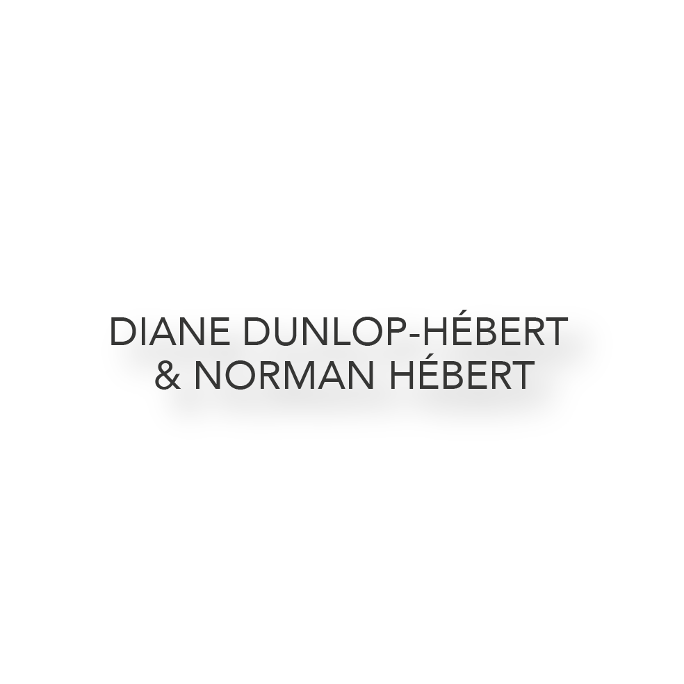 Diane Dunlop Hebert _ Norman Hebert